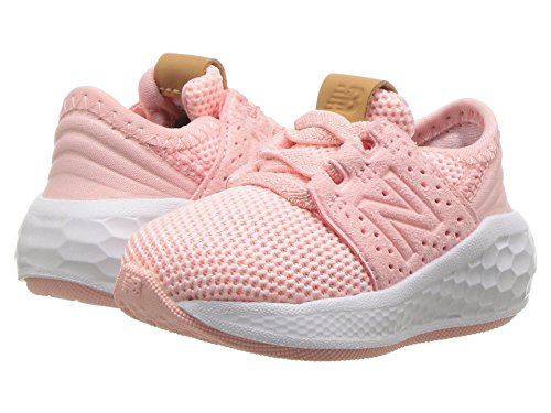[new balance(ニューバランス)] メンズランニングシューズ?スニーカー?靴 KVCRZv2I Knit (Infant/Toddler) Himalayan Pink/White 10 Toddler (17cm) M