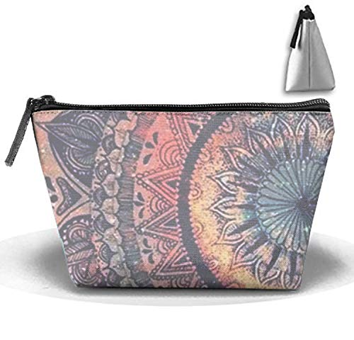 Tribal Mandala Travel Toiletries Bag Phone Coin Purse Cosmetic Pouch Pencil Case Tote Multifunction Storage Organizer ()