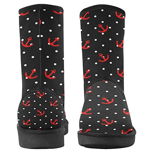 Snow Stivali Da Donna Di Interestprint Stivali Invernali Comfort Dal Design Unico Multi 22