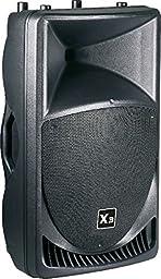 P-Audio X315A Powered 15-Inch 500-Watt DJ Speakers