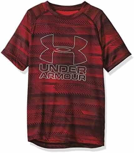 Under Armour Boys Big Logo Printed T-Shirt
