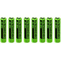 Replacement Battery for AT&T 80-5461-00-00 / 80-5469-00-00 / 26820 / Rechargeable NiMH AA Batteries (8-Pack, Bulk Packaging)