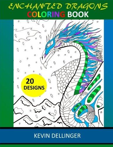 (Enchanted Dragons Coloring Book)