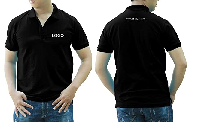 873c684a Add Your Logo Text Design Image Picture. Custom Polo. Personalized Polo.  Embroidered On