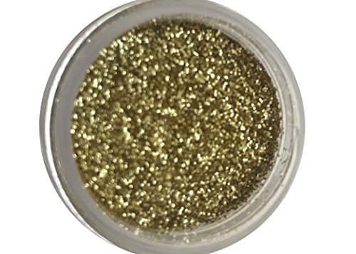 AMERICAN GOLD DISCO Cake (5 grams each container) For cakes, fondant, By Oh! Sweet Art - Gold Glitter Dust