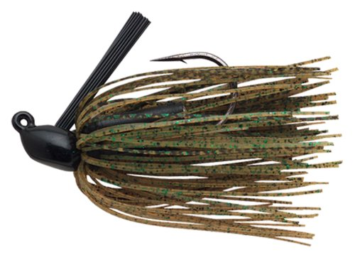 Booyah BYBJ12-18 Boo Jig, 1/2-Ounce, Black/Green Pumpkin