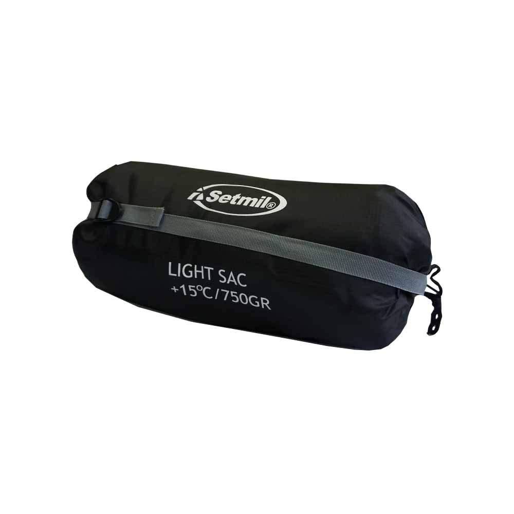Setmil - Saco de dormir LIGHT SAC - Saco de dormir alpino mummy Unisex Adulto. Saco tipo momia con bolsa de compresión.: Amazon.es: Deportes y aire libre