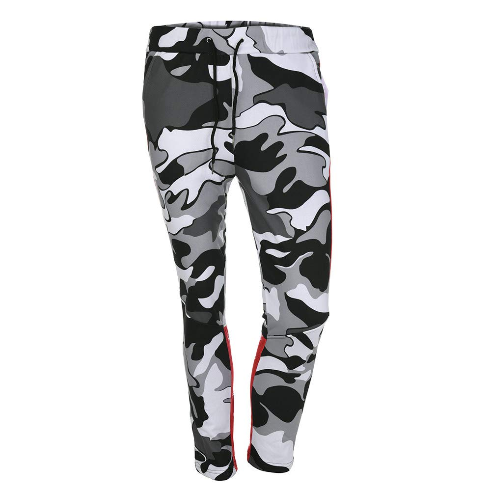 iYBUIA Mens Casual Jogger Sweatpants Basic Fleece Marled Jogger Pant Elastic Waist Mens Pants
