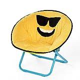 Emoji Pals Sunglasses Kids Saucer Chair