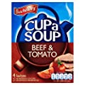 Batchelors Cup A Soup Beef & Tomato - 88g - Pack of 2 (88g x 2)