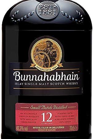 Bunnahabhain Whisky 12 Años Islay Single Malt - 700 ml