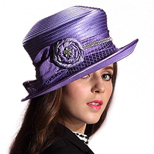 Femmes Chapeau de cérémonie chapeau noble Elégante