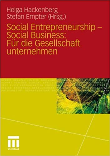 Download Social Entrepreneurship - Social Business: Für die