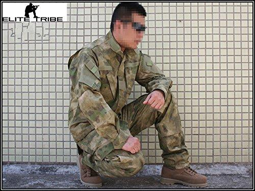 hombres airsoft paintball militar uniforme uniforme de combate táctico AT/FG Military Outdoor