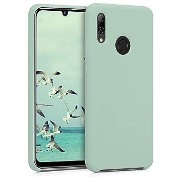 kwmobile Funda para Huawei P Smart (2019) - Carcasa de [TPU] para teléfono móvil - Cover [Trasero] en [Menta Mate]