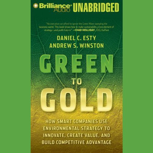 Pdf Business Green to Gold: How Smart Companies Use Environmental Strategy