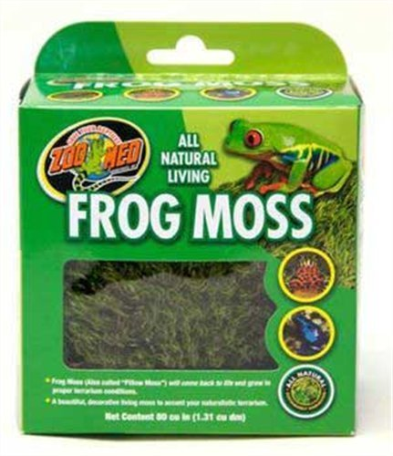 Zoo Med Laboratories Accents - Zoo Med Frog Moss, 80 Cubic-Inches