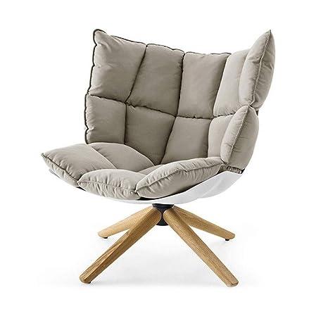 ZDAMN Solo sofá Salón sillón cojín con Patas de Madera for ...