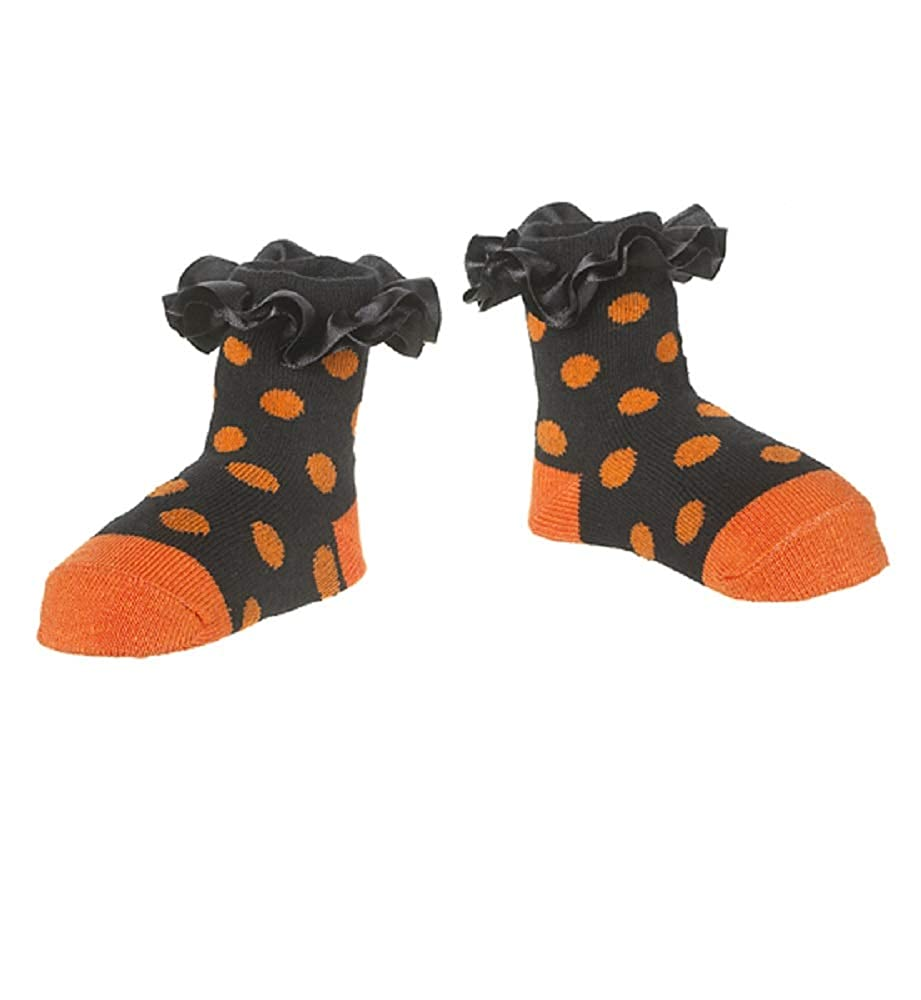 Ganz Baby Girl 0-12 Months Halloween Socks