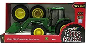 RC2 (Learning Curve) John Deere - Tractor 6830 con doble rueda (Bizak 30692425)