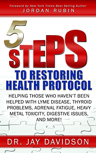 5 Steps to Restoring Health Protocol: Helping those who haven?t been helped with Lyme Disease, Thyroid Problems, Adrenal Fatigue, Heavy Metal Toxicity, Digestive Issues, and More!