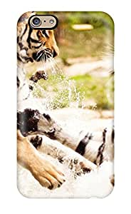9085255K83827932 Case Cover, Fashionable Iphone 6 Case - Tigers Playing