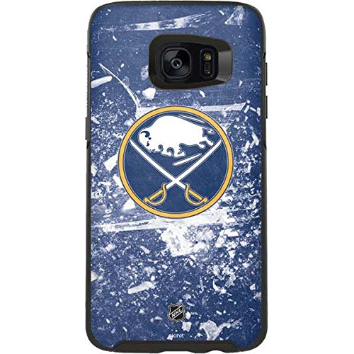 Skinit Buffalo Sabres Frozen OtterBox Symmetry Galaxy S7 Edge Skin for CASE - Officially Licensed NHL Skin for Popular Cases Decal - Ultra Thin, Lightweight Vinyl Decal Protection
