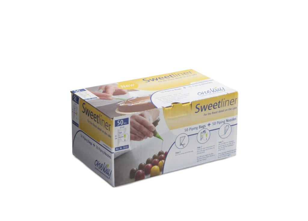 Sweetliner 50 spuitjes One Way 3111 rol 50 st//Clear