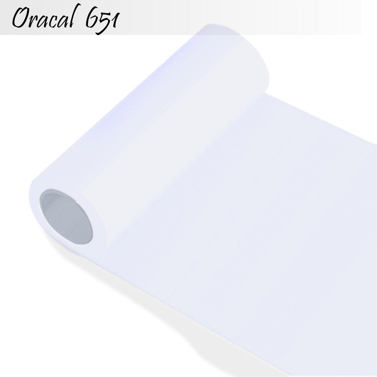 Oracal Orafol 651 Folie 5m freie Farbwahl 60 glänzende Farben in 4 ...