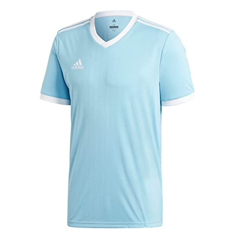Adidas CE8943 Camiseta, Hombre, Azul (Clear Blue/White), M