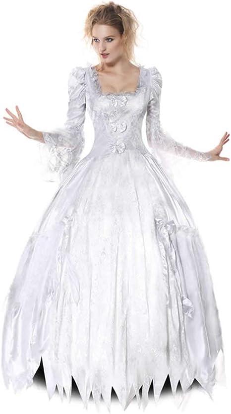 Tjtcs Vestidos de Disfraces de Halloween para Mujeres Adultas ...