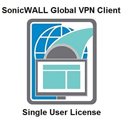 SonicWALL | 01-SSC-5310 | SonicWALL Global VPN Client for Windows - License for use with TZ/NSA/Legacy TZ Series Firewalls - 1 User License 01-SSC-5310