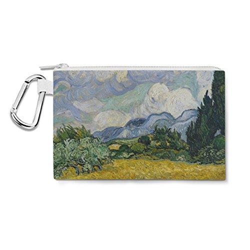 Vincent Van Gogh Fine Art Painting Canvas Zip Pouch - 3XL Ca