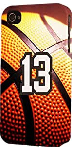Basketball Sports Fan Player Number 13 Snap On Flexible Decorative iphone 5s Case
