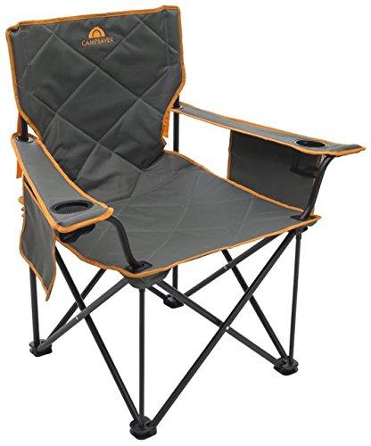 Alps登山campsaver King Kong椅子、ダークグレー/明るいオレンジ、1サイズ、8141534 B077P3LKYJ