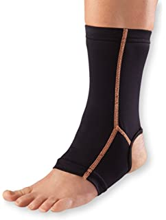 WellWear Copper Ankle Sleeve, One Size