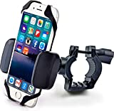 Cheap Bike & Motorcycle Cell Phone Mount – For iPhone 6 (5, 6s Plus), Samsung Galaxy Note or any Smartphone & GPS – Universal Mountain & Road Bicycle Handlebar Cradle Holder. +100 to Safeness & Comfort