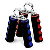 woderful Foam Hand Grippers Fitness Grip Forearm Heavy Strength Grips Arm Exercise Wrist 2Pcs