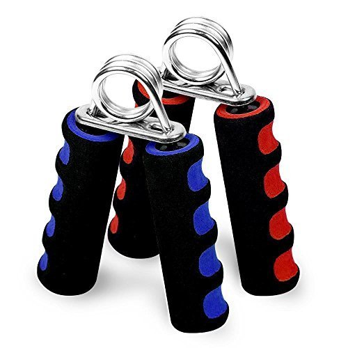 woderful Foam Hand Grippers Fitness Grip Forearm Heavy Strength Grips Arm Exercise Wrist 2Pcs by woderful