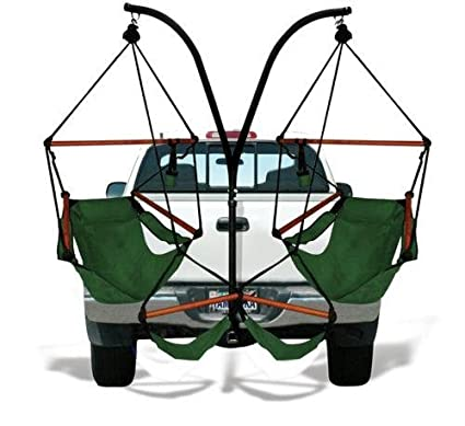 Delicieux Amazon.com : Trailer Hitch Stand And 2 Black Hammaka Chairs Combo   WD :  Hammock Stands : Garden U0026 Outdoor