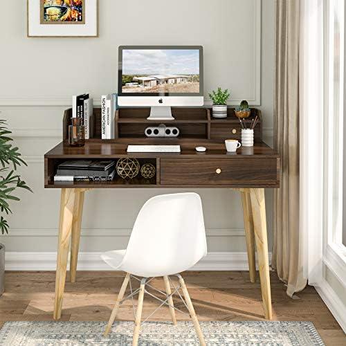 Itaar 41.3'' Writing Computer Desk - a good cheap modern office desk