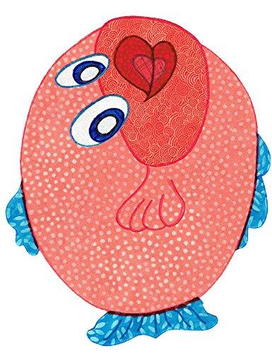 Amazon com: Baby Quilt Patterns, by Kiddie Komfies, Fish