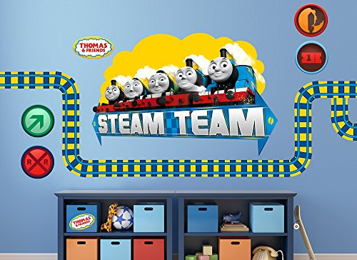 Thomas & Friends Team Large Wall Decal Set (Friends Decal Set)