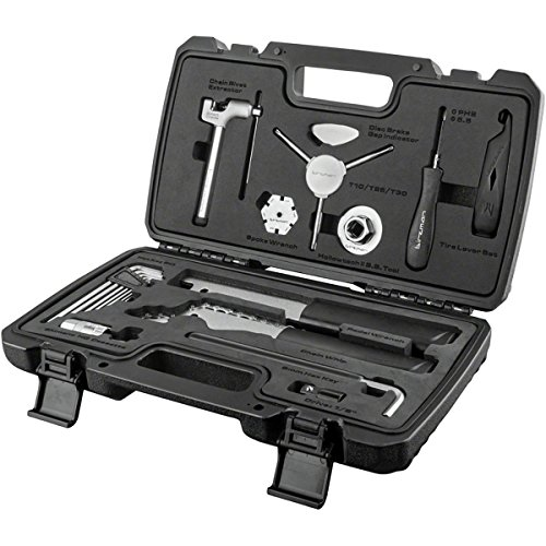 Birzman 13 Piece Essential Tool Kit Black, One Size (Birzman 20 Piece Travel Box Tool Kit)