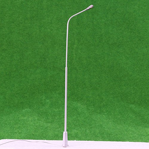LYWS 5PCS 1/50 1:50 Metal Model Street Lights Lamppost, used for sale  Delivered anywhere in USA
