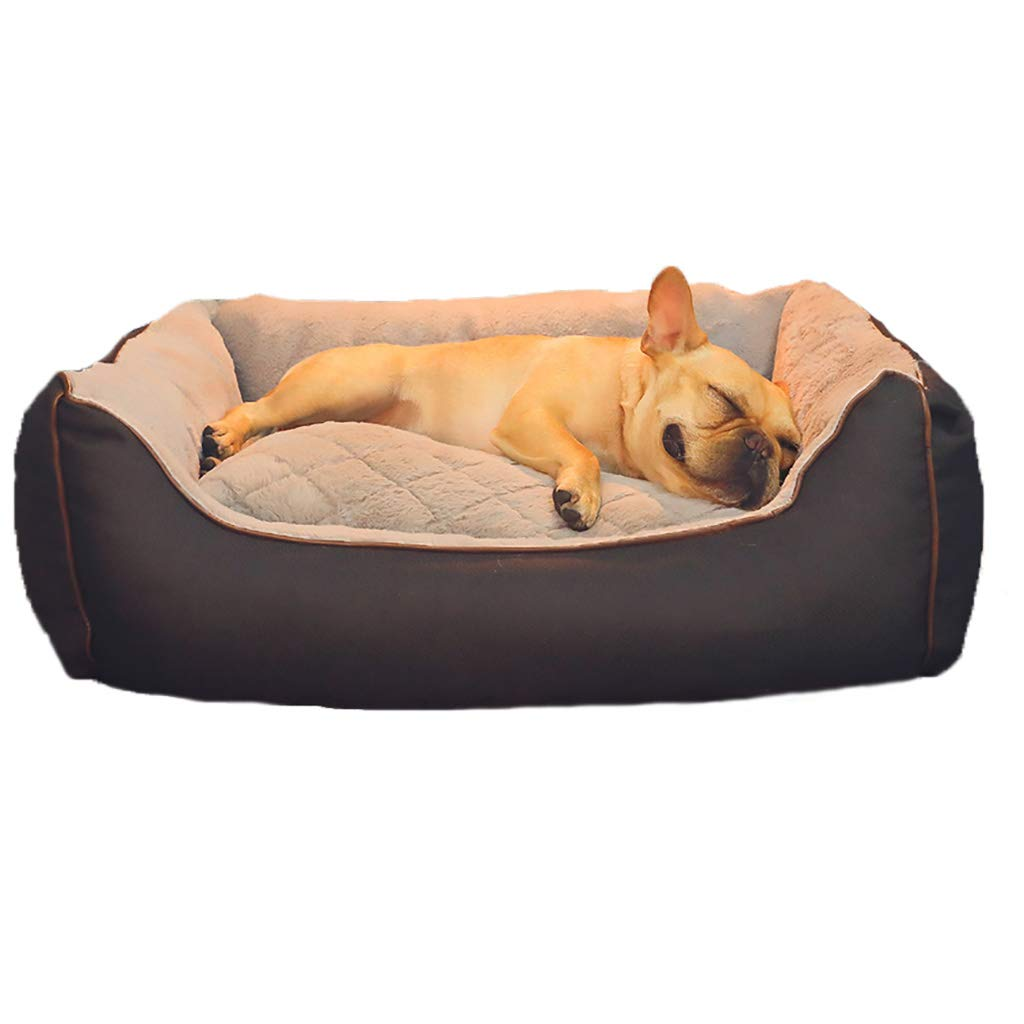 453020 Pet house kennel Cat nest Washable Small dog Medium dog Large dog Pet mat pet bed pet nest Skin-friendly soft Four seasons available (Size   45  30  20)