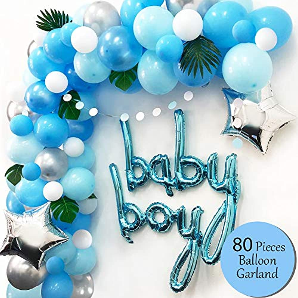 Ola Memoirs Premium Baby Shower Decorations For Boy ...