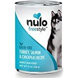 Nulo Adult Grain Free Canned Wet Dog Food (Salmon Recipe, 13 oz, Case of 12)