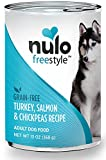 Nulo Adult Grain Free Canned Wet Dog Food (Salmon Recipe, 13 oz, Case of 12) For Sale