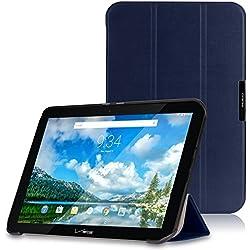 MoKo Verizon Ellipsis 10 Case - Ultra Slim Lightweight Smart-shell Stand Cover Case for Verizon Ellipsis 10 2015 Tablet (NOT FIT 2017 Verizon Ellipsis 10), INDIGO